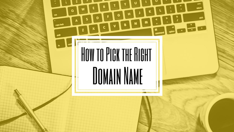 Picking Domain Name