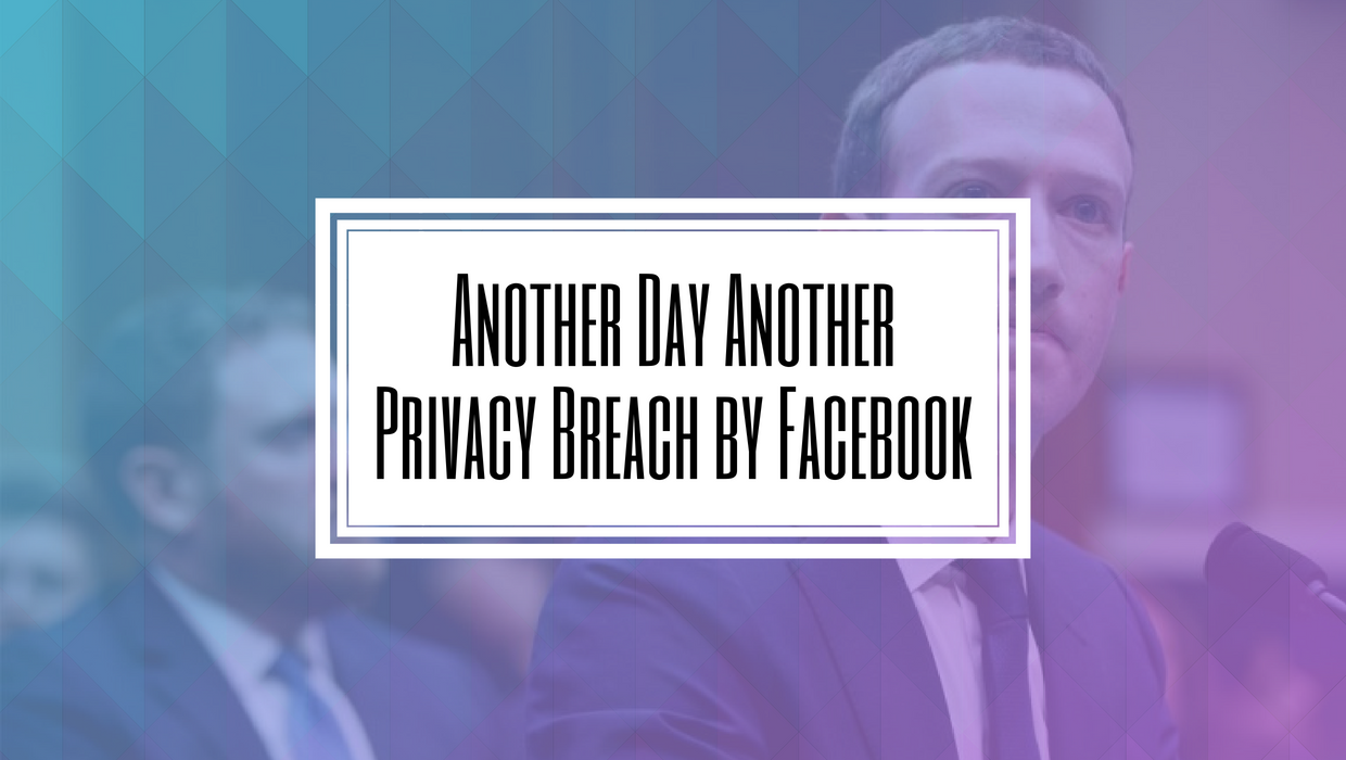 Another Day Another Privacy Breach by Facebook-Hilborn Digital