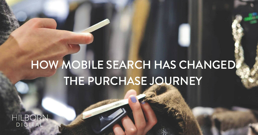 Mobile Search Has Changed the Purchase Journey