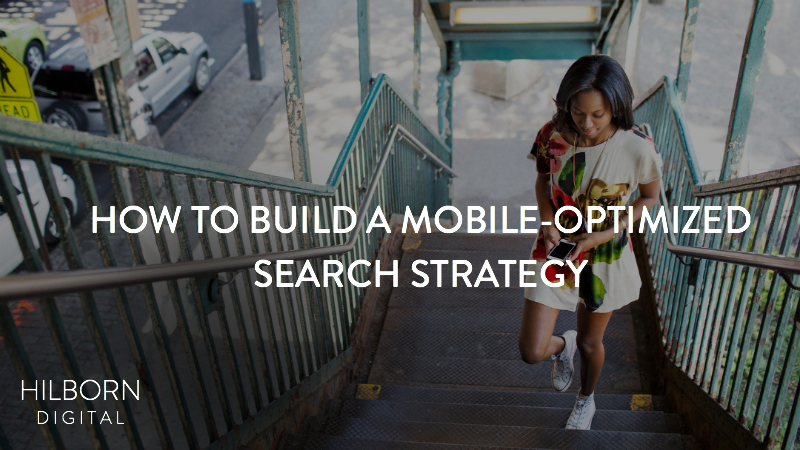 Mobile-Optimized Search Marketing Strategy
