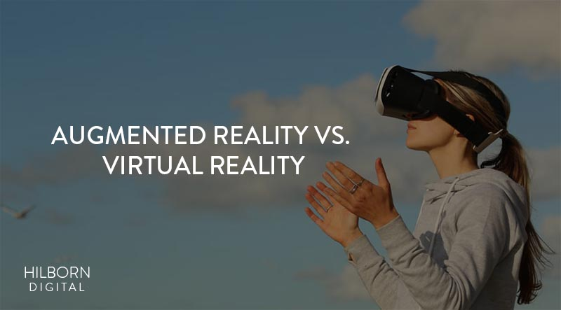 virtual reality marketing vs augmented reality