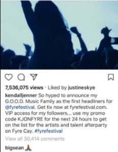 Kendal Fyre Festival
