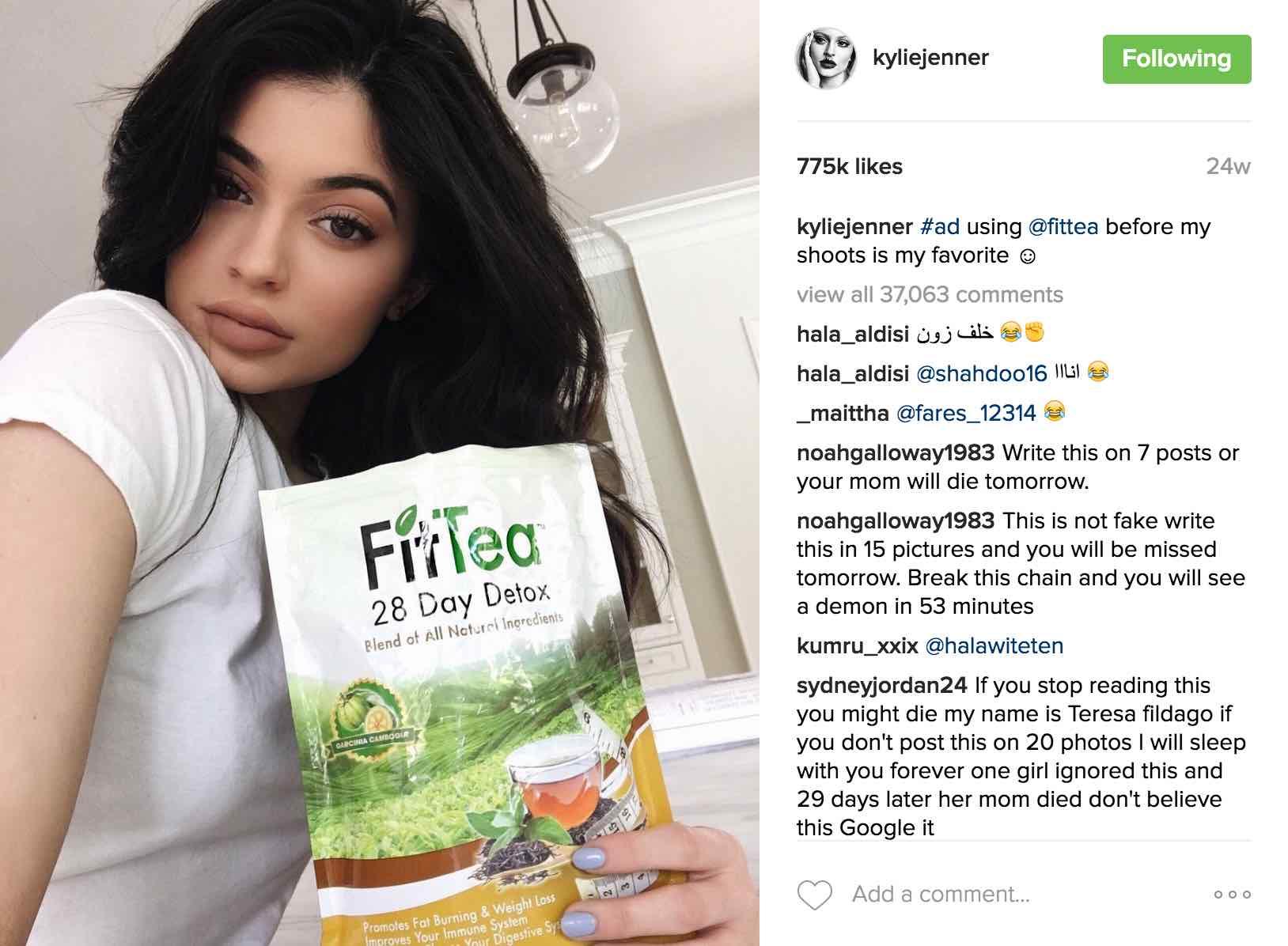 Influencer Marketing_Kylie Jenner