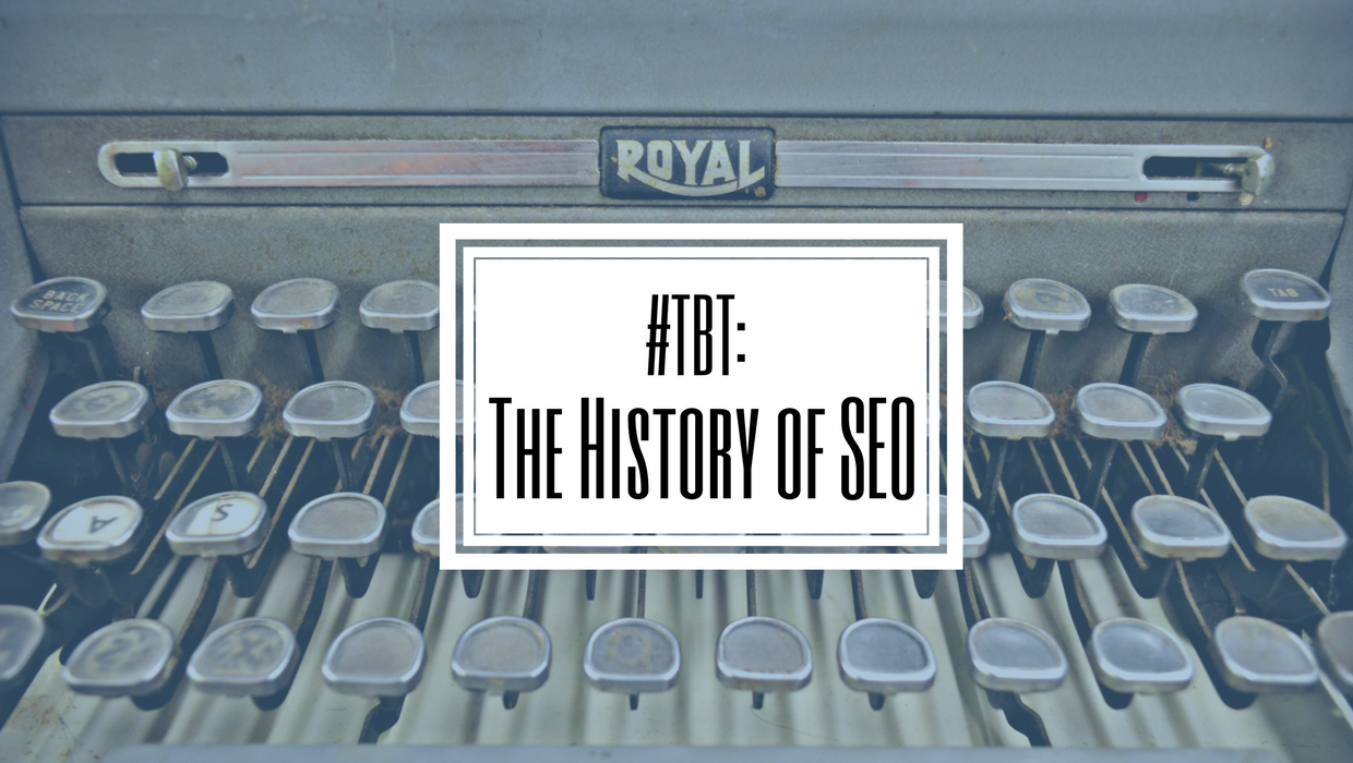 #TBT The History of SEO