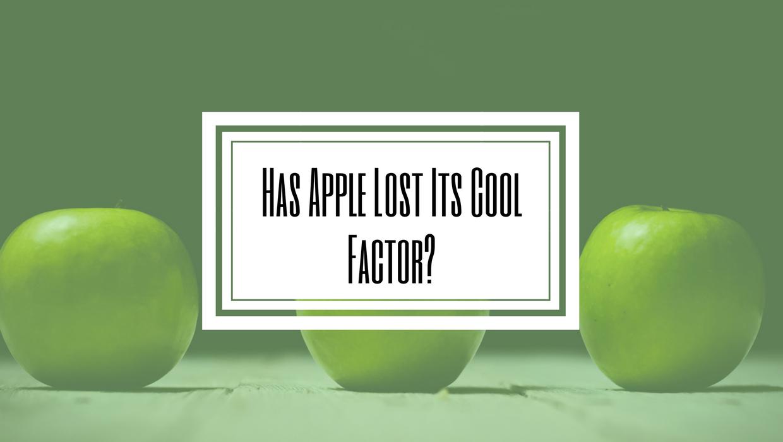 Apples cool factor Hilborn Digital