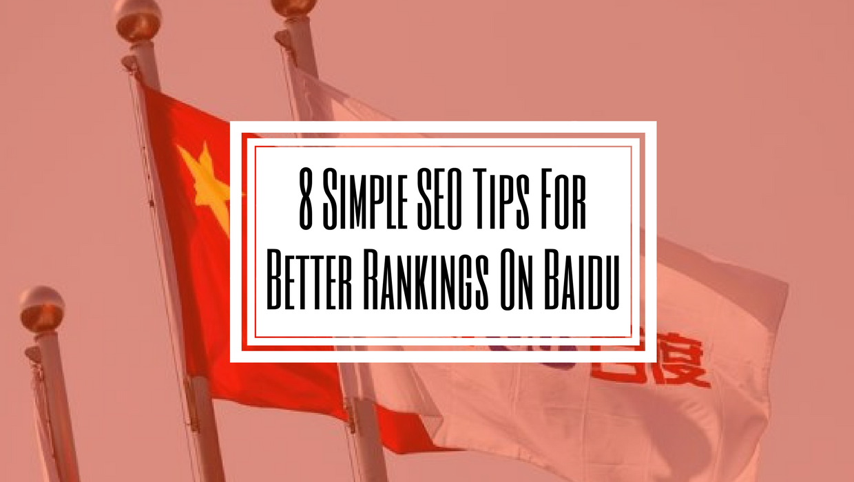 Baidu SEO Tips for Chinese Marketing