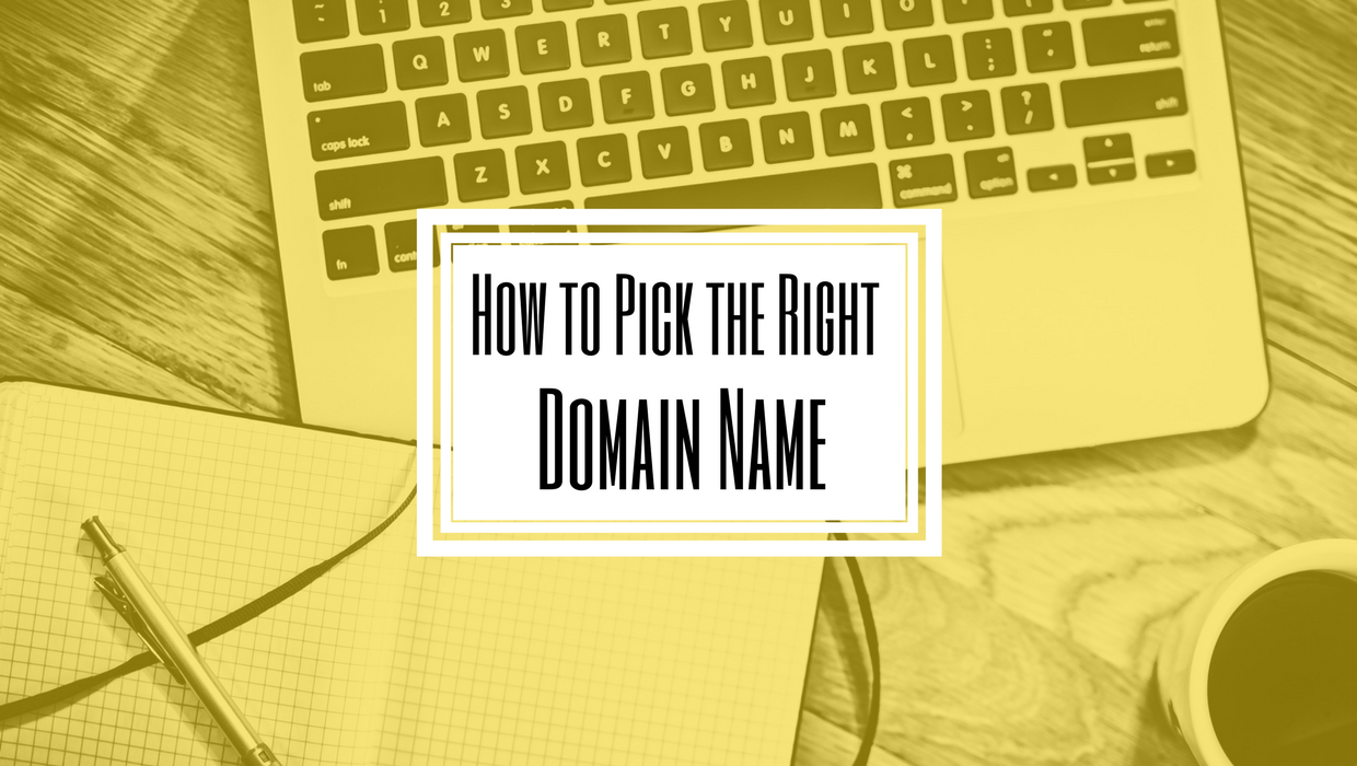 Picking Domain Name