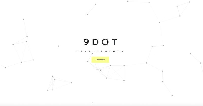 9 Dot Developments Website