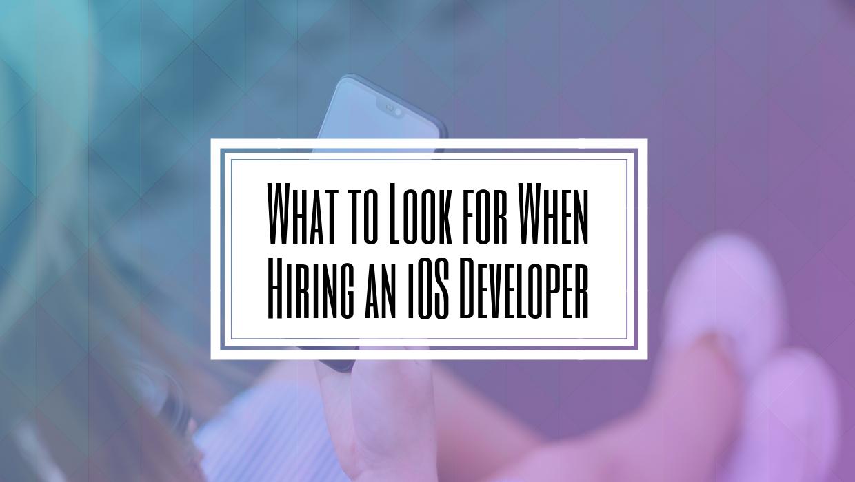 iOS App Developer Toronto
